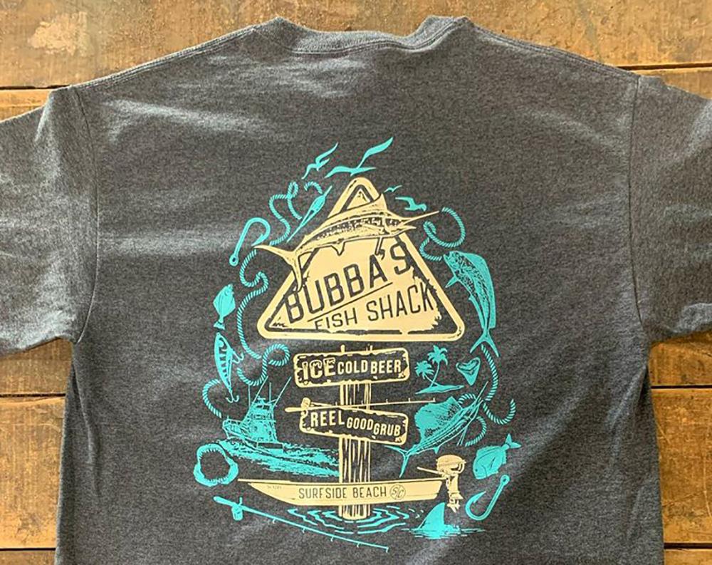 Bubba's Fish Shack  T-shirt