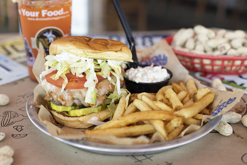 Short Rib Prime Burger vs. Classic RCC Cheeseburger