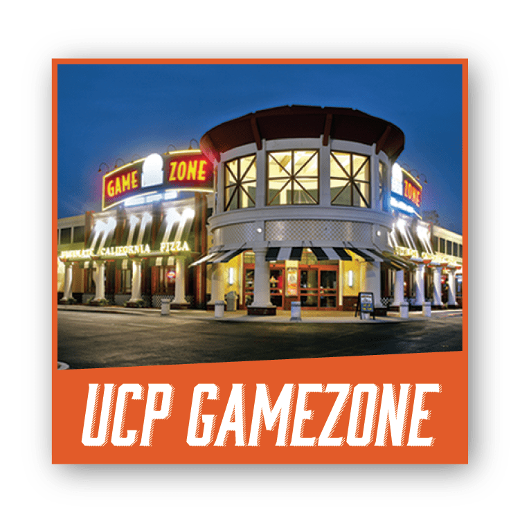 UCP Gamezone Ultimate California Pizza